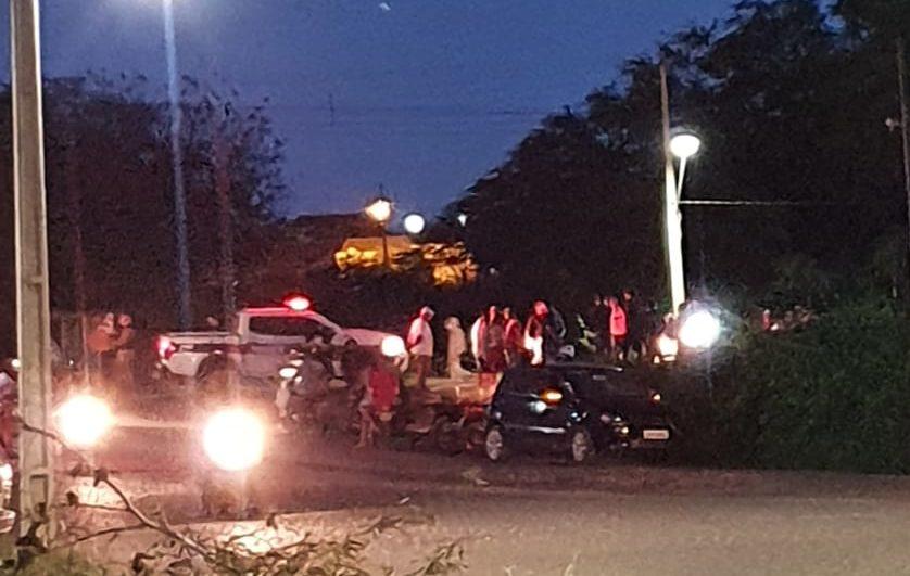 IMG-20201127-WA0458-e1606511275453 Colisão entre carro e moto deixa uma pessoa ferida em Monteiro
