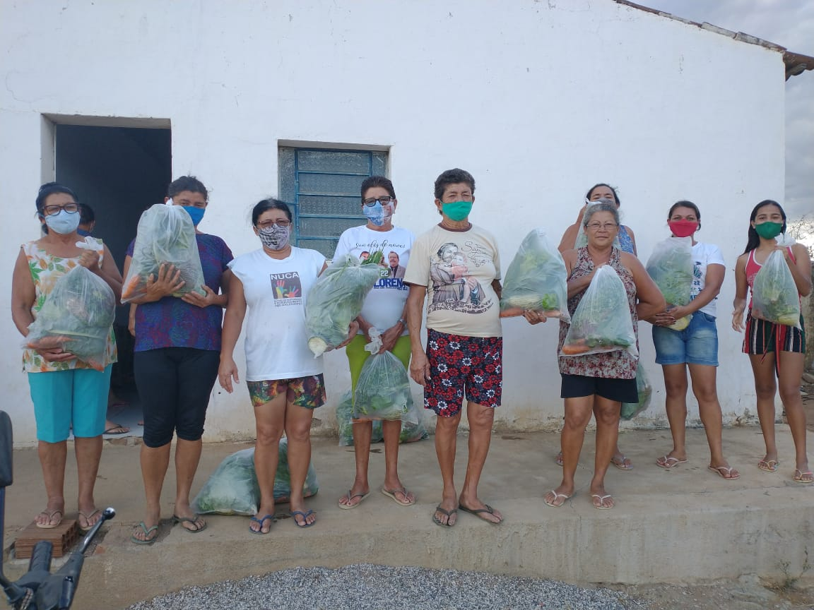 Kits-zona-rural-_-assistenciais-1 Comunidades rurais e Serviços assistenciais em Monteiro recebem kits com verduras e legumes