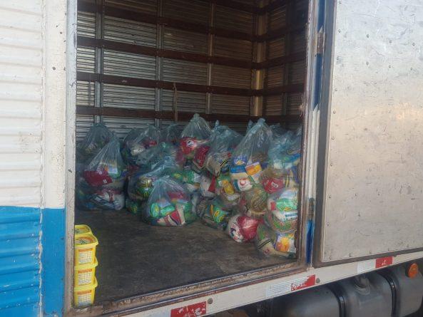 cestasbasicas-593x445-1 VOTO SEGURO: Polícia Militar apreende 100 cestas básicas que seriam distribuídas em município na zona da mata paraibana