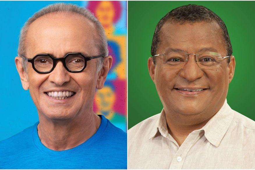 cicero_e_nilvan3 Pesquisa Ibope para 2º turno em João Pessoa, votos válidos: Cícero Lucena, 58%; Nilvan Ferreira, 42%