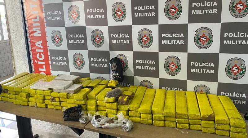 drogas11 Polícia Militar apreende cerca de 100 quilos de drogas na PB