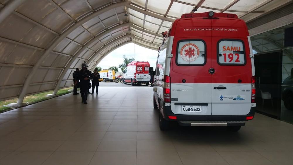hospital-de-trauma-de-campina-grande Mulher e filho de três anos são internados após tiros, em Livramento, na Paraíba