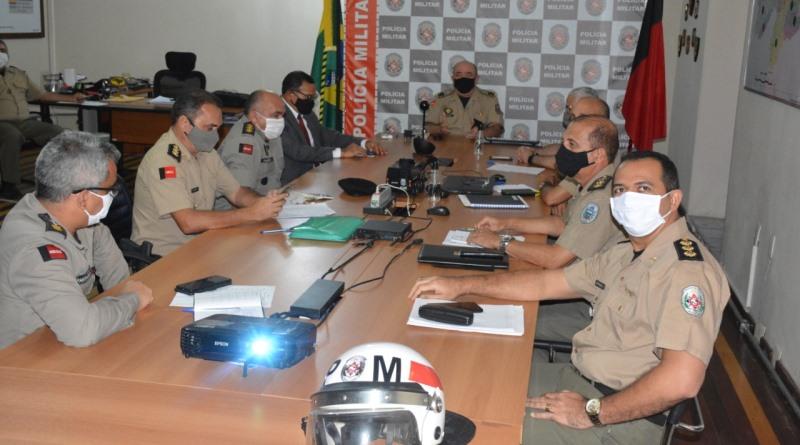 pm-pb Reunião define últimos ajustes para esquema de policiamento durante as Eleições 2020
