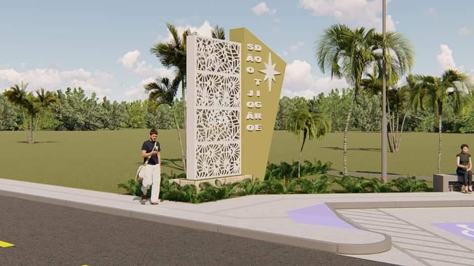 FB_IMG_1609337752306 Mesmo antes de tomar posse, prefeito eleito Márcio Leite anuncia calçamento da comunidade do Quati e construção de dois portais de entrada em São João do Tigre