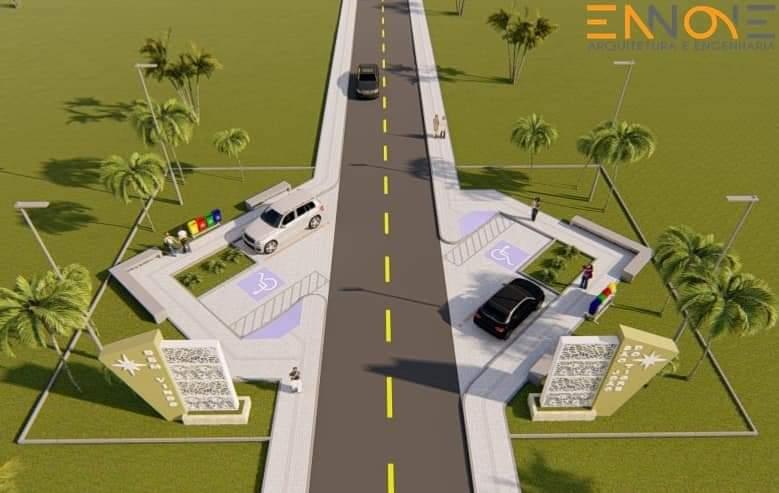 FB_IMG_1609337760564 Mesmo antes de tomar posse, prefeito eleito Márcio Leite anuncia calçamento da comunidade do Quati e construção de dois portais de entrada em São João do Tigre