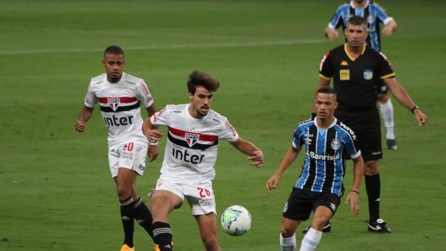 Sao-Paulo-Gremio Grêmio abre vantagem sobre o São Paulo na semifinal