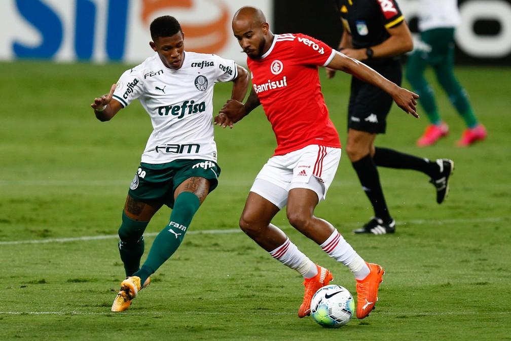 frm20201219005 Palmeiras tem atuação apática contra o Inter, e título brasileiro fica mais distante