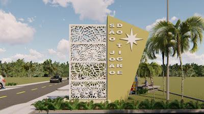 portal-sao-joao-do-tigre Mesmo antes de tomar posse, prefeito eleito Márcio Leite anuncia calçamento da comunidade do Quati e construção de dois portais de entrada em São João do Tigre
