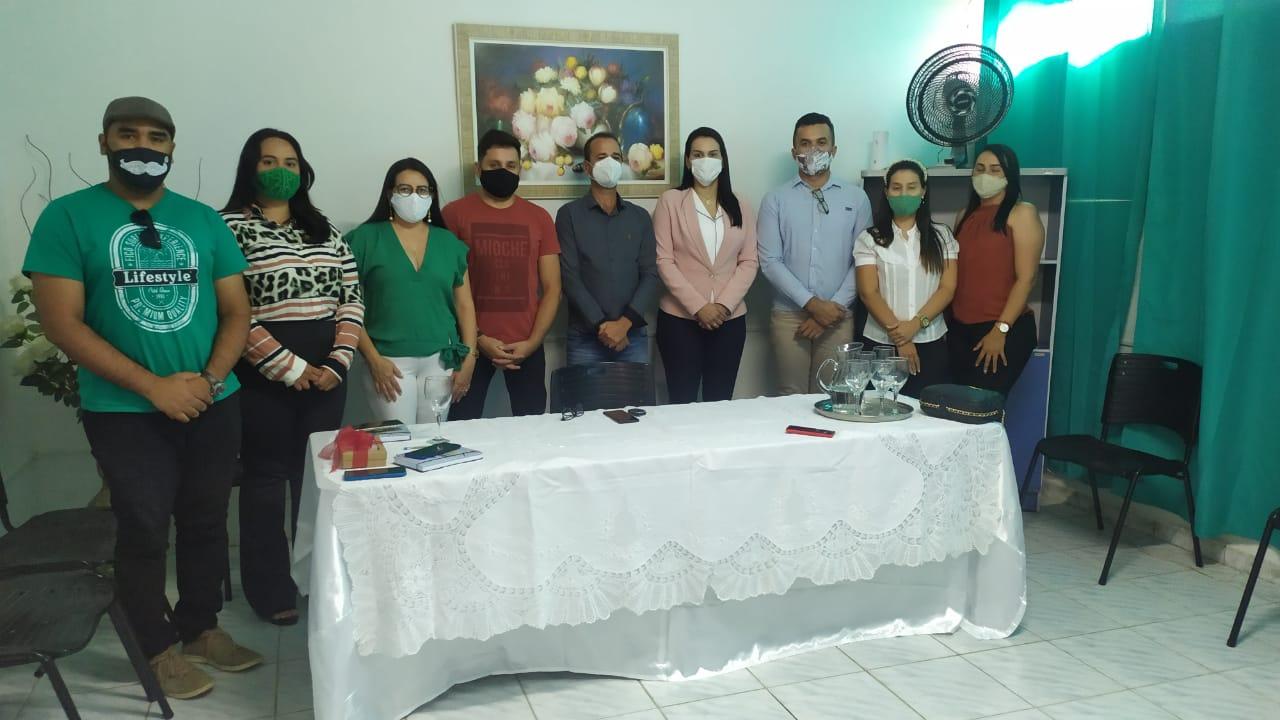 1-tigre Prefeito Márcio Leite recebeu visita da Secretária de Estado da Juventude da Paraíba, Rafaela Camaraense