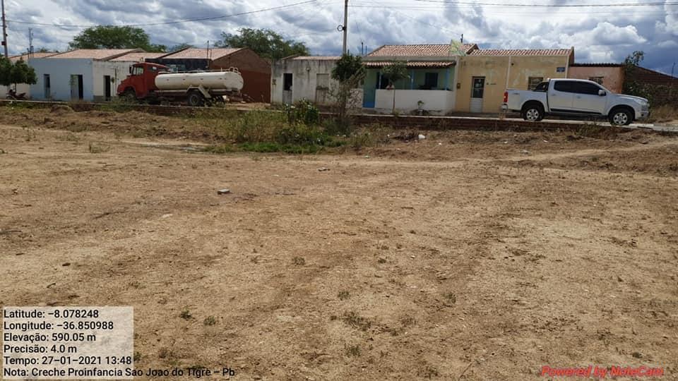 142295755_3701843523267777_7597705732100299966_n Prefeito Márcio Leite visita terreno onde será construída a creche em São João do Tigre