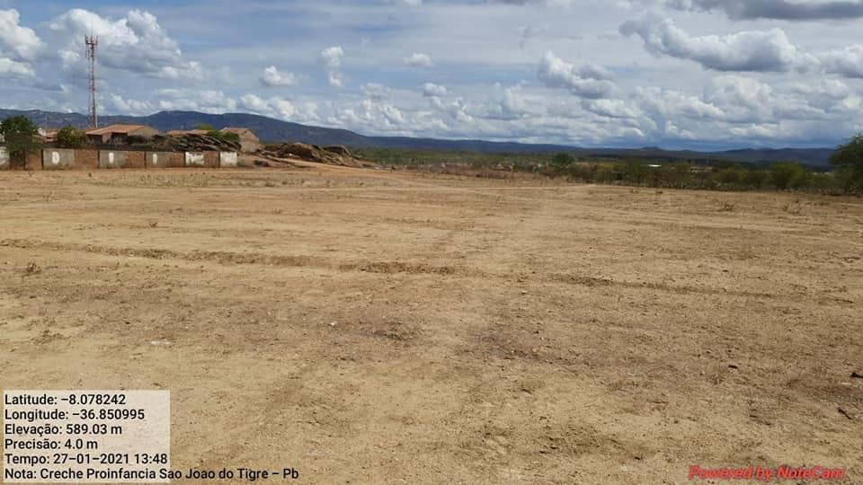 142596823_3701843449934451_1138883660081140550_n Prefeito Márcio Leite visita terreno onde será construída a creche em São João do Tigre