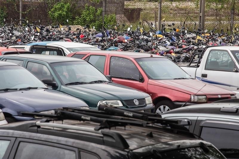 DETRAN Detran promove primeiro leilão de 2021 com 778 veículos a partir desta quinta-feira