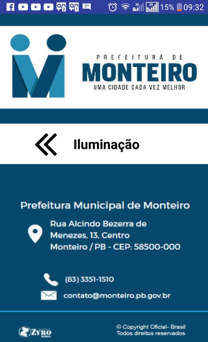 Ilimunacao-Monteiro-2 Iluminação Pública: Prefeitura de Monteiro amplia e aperfeiçoa aplicativo pioneiro