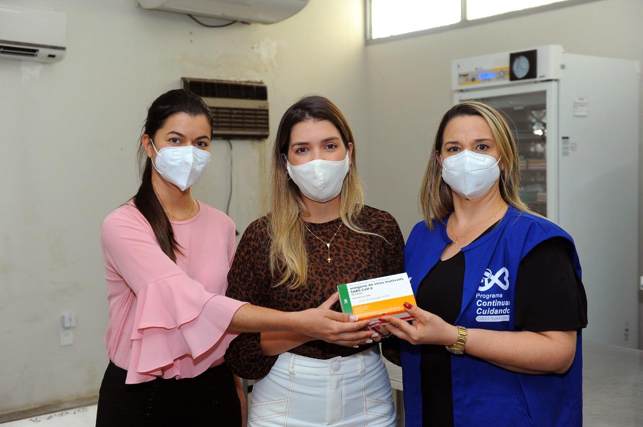 Monteiro-recebe-primeiro-lote-de-vacina-contra-covid-2 Em Monteiro: Prefeita Anna Lorena recebe primeiro lote de vacinas contra Covid-19