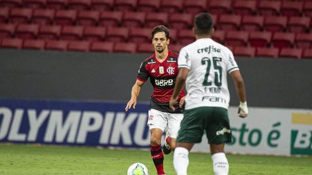 flamengixpalmeiras Flamengo vence o Palmeiras e depende apenas de si para ser campeão