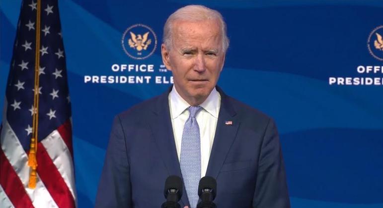 joe-biden-faz-pronunciamento-sobre-invasao-ao-congresso-dos-eua-06012021183508472 Veja a íntegra do discurso de posse de Joe Biden como presidente dos EUA