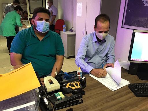 marcio-leite-celio-barbosa Prefeito de São João do Tigre Márcio Leite assina termo de adesão ao Garantia Safra 2020/2021