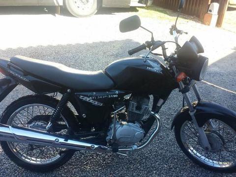 moto-cg-150-2006 Motocicleta é furtada em frente à residência em Monteiro