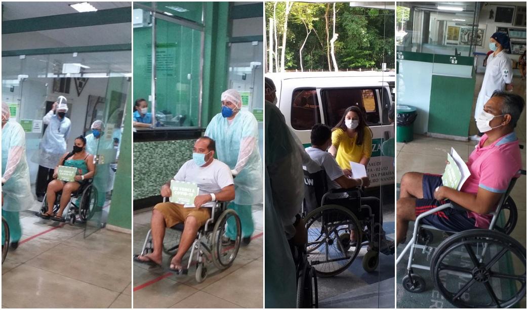 pacientes-alta-hulw Mais cinco pacientes de Manaus recebem alta do Hospital Universitário de João Pessoa