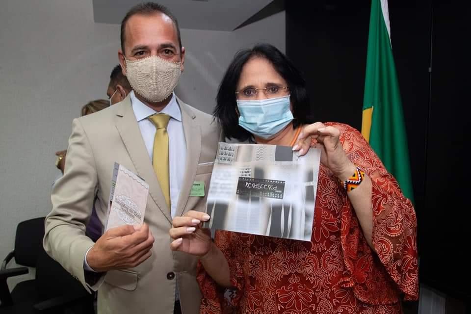 FB_IMG_1612716354609 Prefeito Márcio Leite participa de reunião com a ministra da Mulher, família e Direitos Humanos