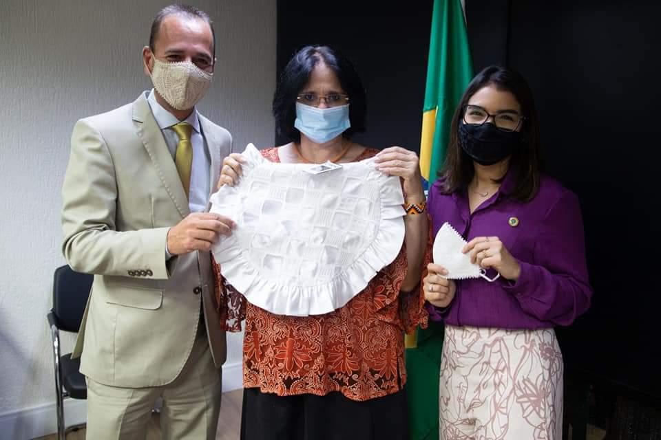 FB_IMG_1612716367731 Prefeito Márcio Leite participa de reunião com a ministra da Mulher, família e Direitos Humanos