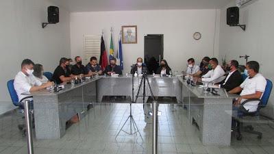 IMG_1135 Câmara de São João do Tigre inicia os trabalhos legislativos com primeira seção de 2021.