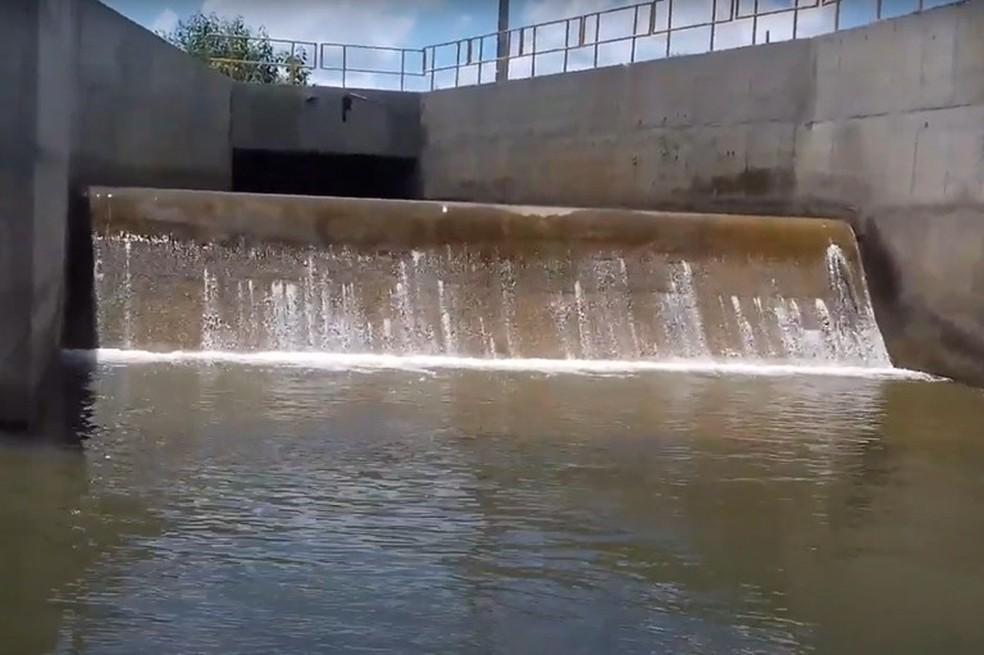 acude MDR libera bombeamento de água do Rio São Francisco para a Paraíba nesta sexta (19)