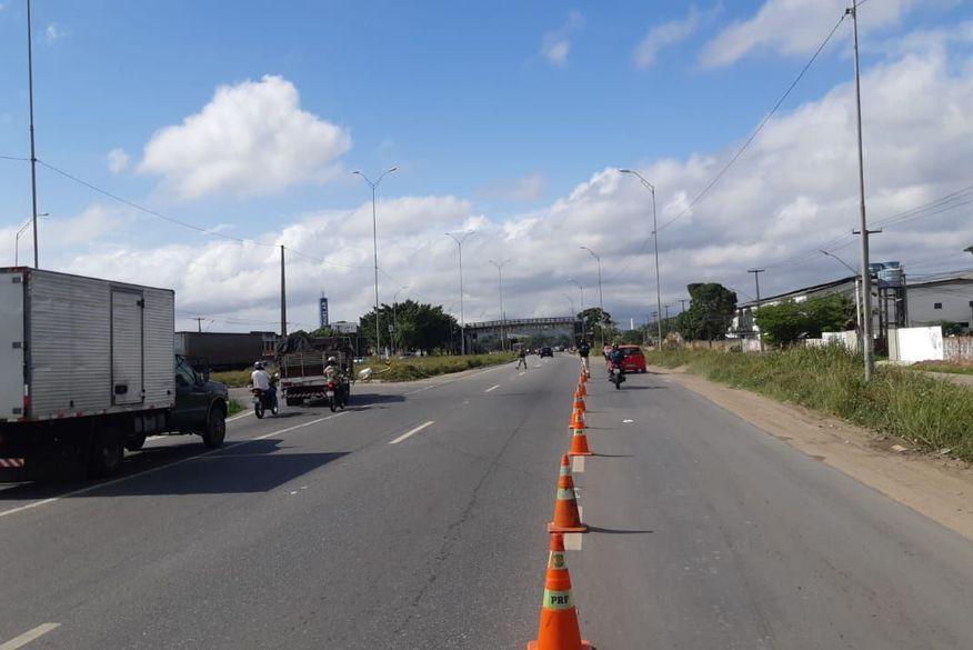 br-101 Rodovias federais da Paraíba não registram interdições em dia de protesto de caminhoneiros, revela PRF