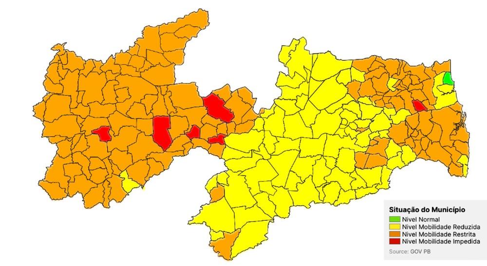 plano-nobo-normal-paraiba Número de municípios da Paraíba na bandeira laranja sobe 527% em 12 dias