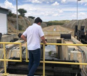 tovar-transposicao Tovar Correia visita Monteiro e constata problemas no Eixo Leste da Transposição