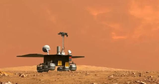 1-68 China diz que rover já circula na superfície de Marte