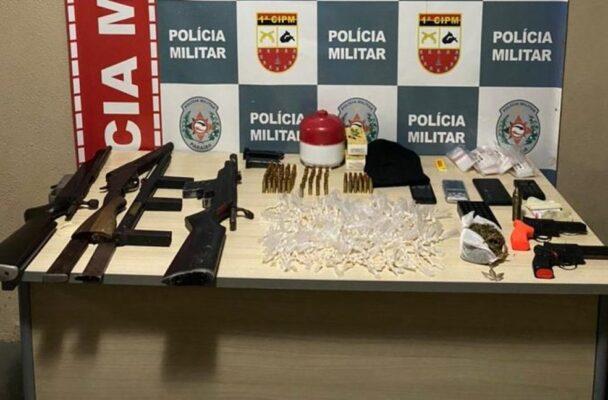 1cipm-677x445-1-608x400 Grupo suspeito de envolvimento no assassinato de três mulheres é preso na Paraíba