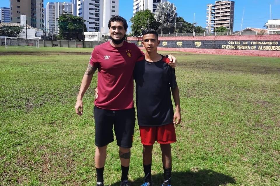Alan-Gomes-serra-branca Jovem de Serra Branca é selecionado pelo Sport para atuar em competição na Europa