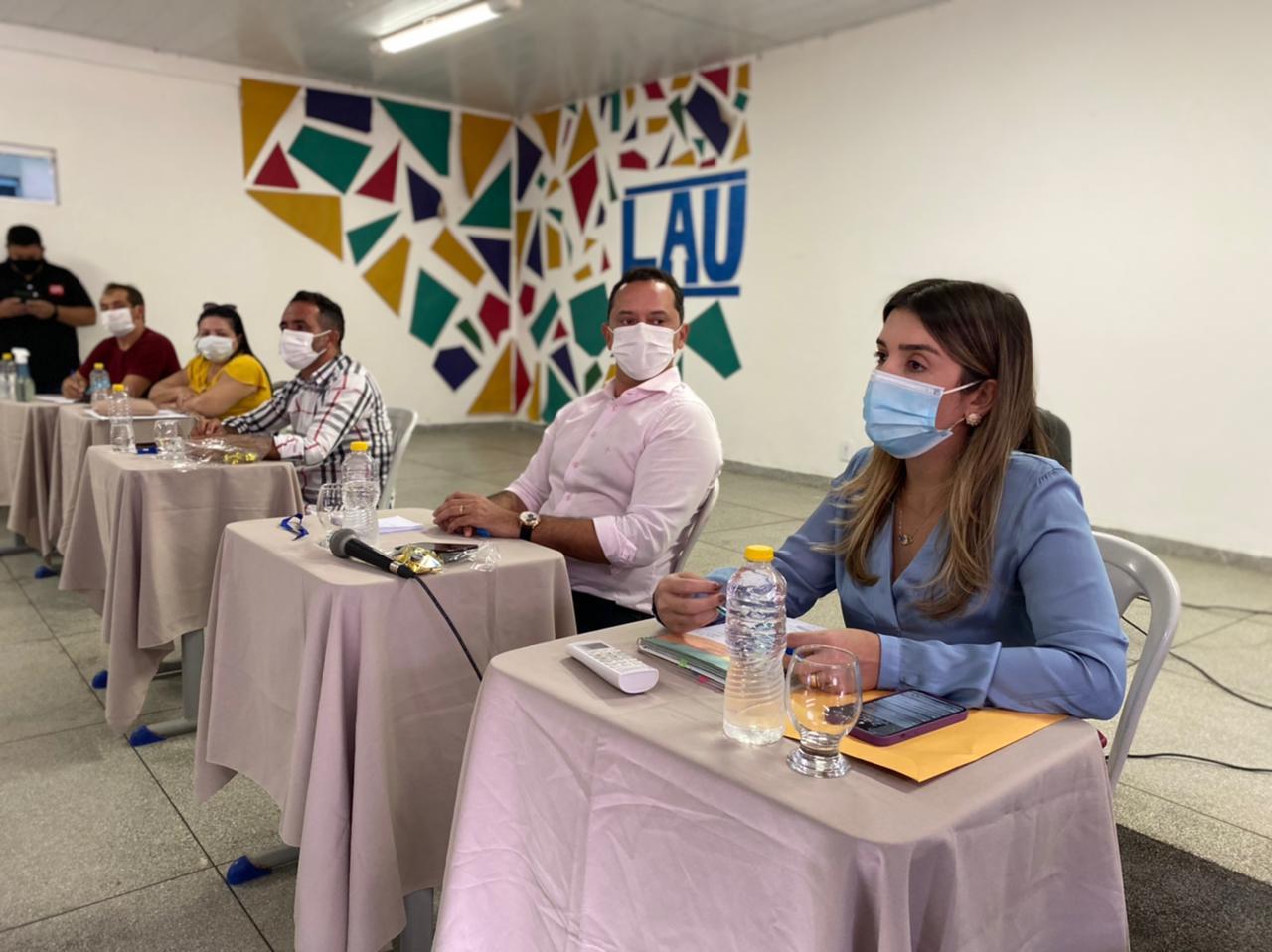 CISCO-2 Anna Lorena recepciona Consórcio Intermunicipal de Saúde do Cariri em reunião com prefeitos da região