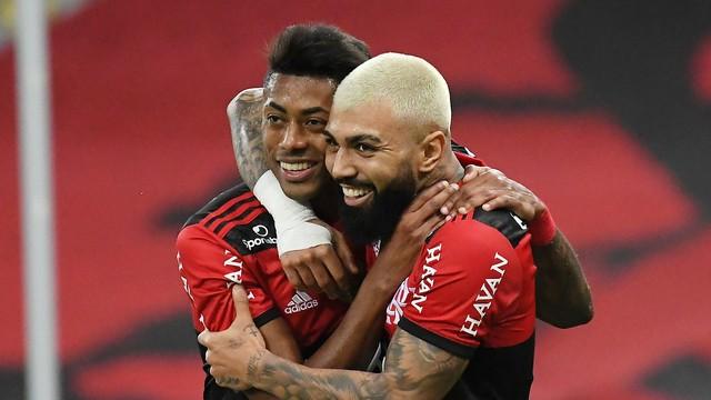 FLA Flamengo goleia ABC no Maracanã e encaminha classificação na Copa do Brasil
