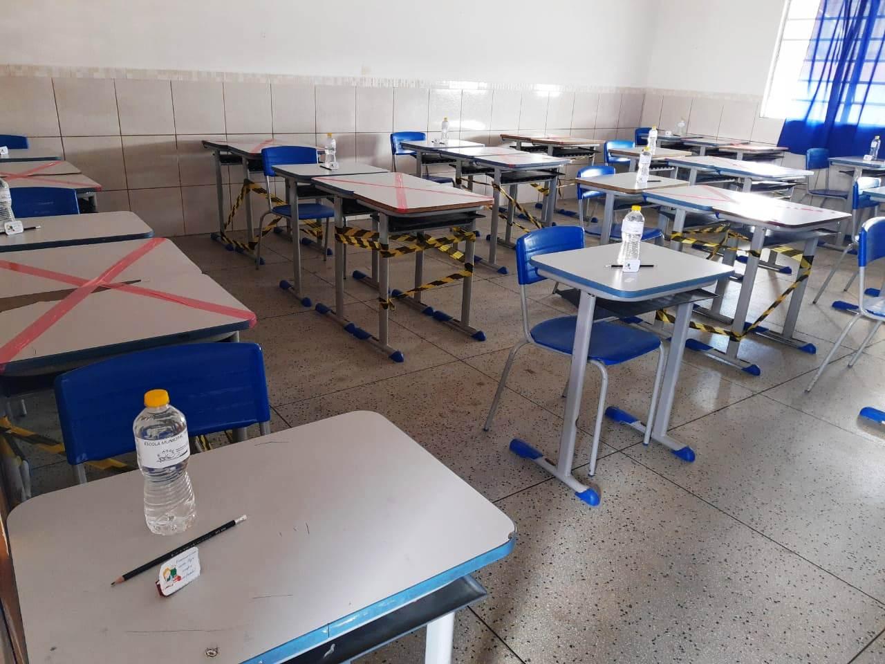 Simulado-SAEB-SEDUC-PMM03 Rede Municipal de ensino de Monteiro promove aplicação de simulados preparatórios para o SAEB