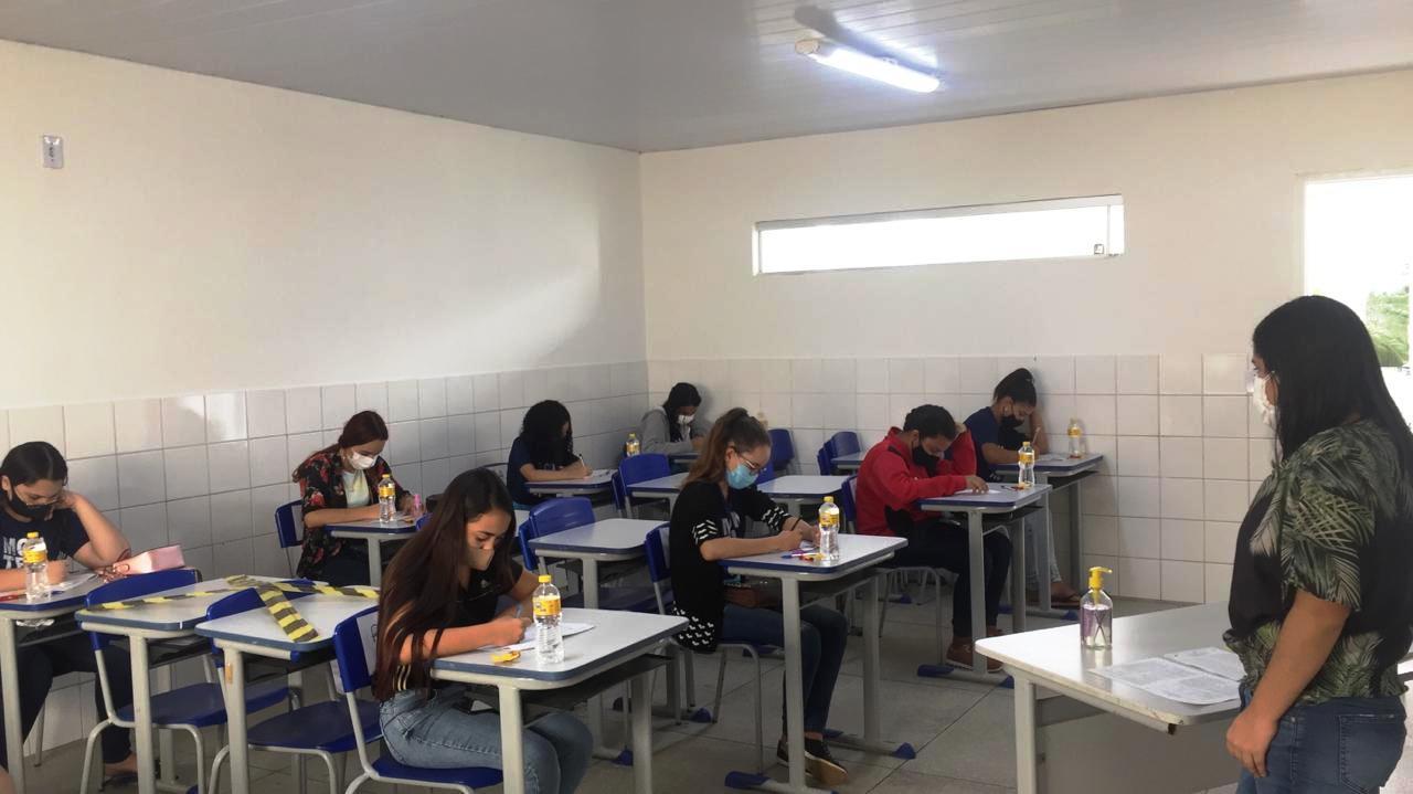 Simulado-SAEB-SEDUC-PMM06 Rede Municipal de ensino de Monteiro promove aplicação de simulados preparatórios para o SAEB