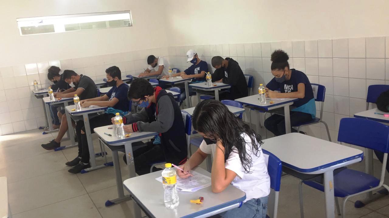 Simulado-SAEB-SEDUC-PMM07 Rede Municipal de ensino de Monteiro promove aplicação de simulados preparatórios para o SAEB