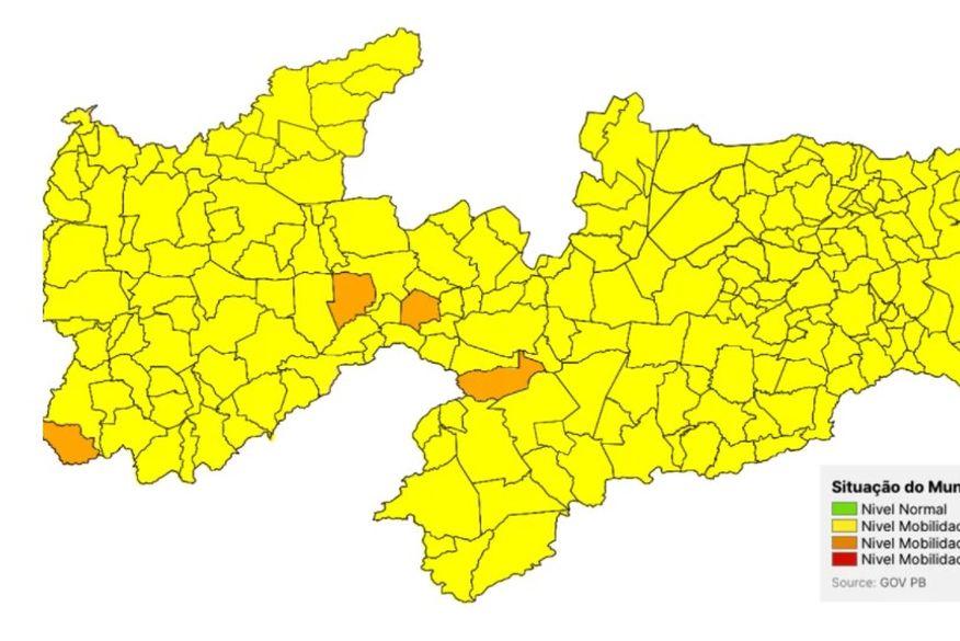 screenshot_2 Novo Normal PB: apenas quatro municípios se mantêm na bandeira laranja e Estado deve ampliar flexibilizações