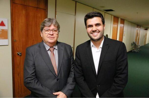 wilson-e-joao-1-608x400 Wilson Filho diz que apoio do seu grupo a Lula depende do PT apoiar a reeleição do governador João Azevêdo