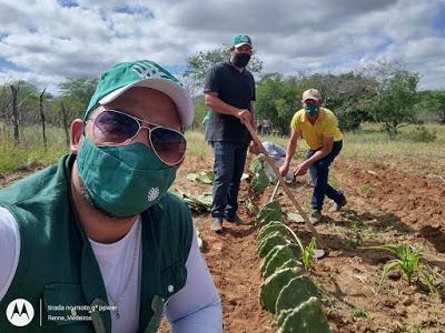 z Prefeitura de São João do Tigre oferece curso sobre o cultivo de palma forrageira em parceria com o SENAR-PB