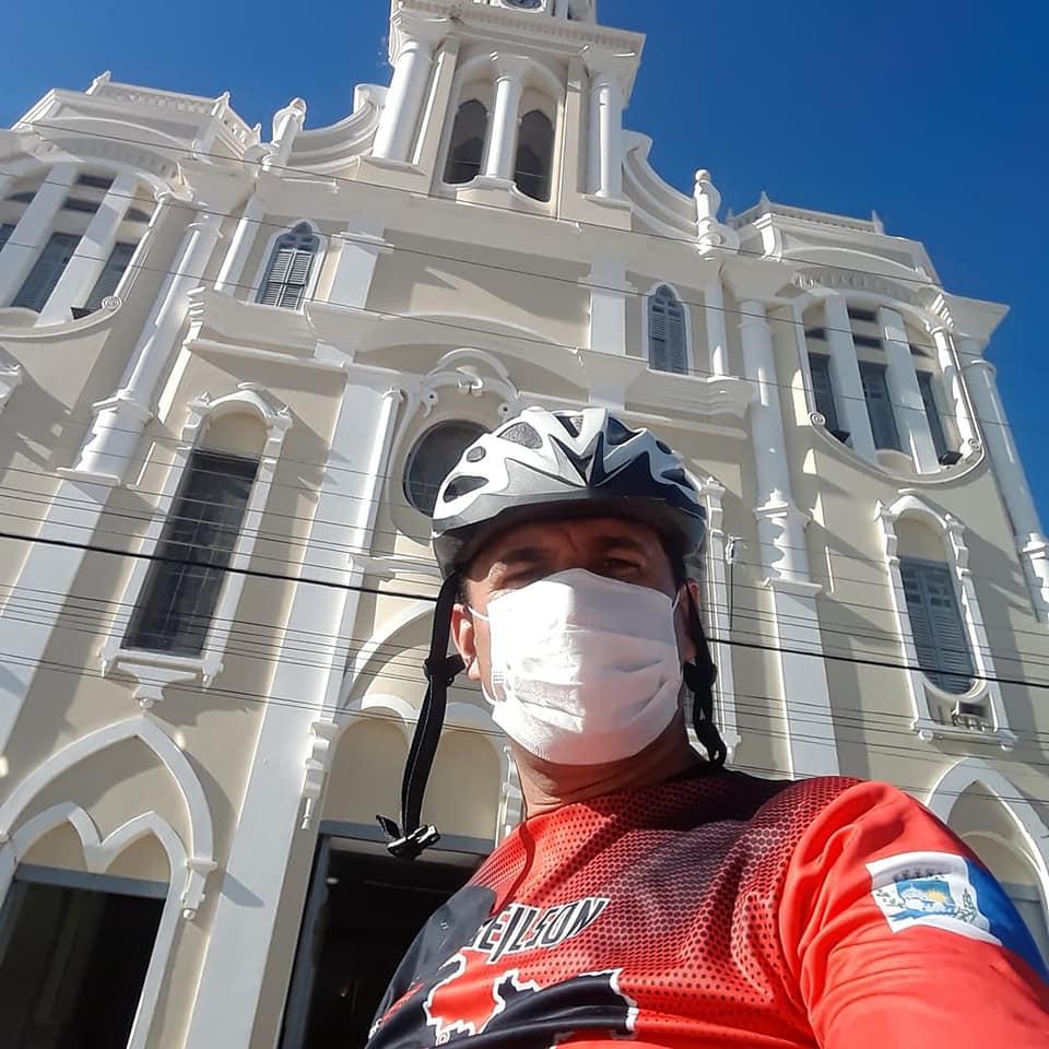 z6 Por saudades da Mãe, Monteirense faz percurso de mais de 130 quilômetros de Patos a Monteiro de Bike após vacinação