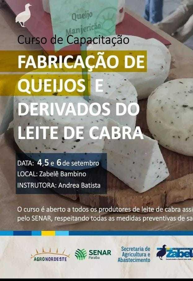 AnyConv.com__4438854a-e06b-4bac-a59a-c26d6cb834d3 Prefeitura de Zabelê e Senar promovem curso de fabricação de queijos e derivados do leite de cabra