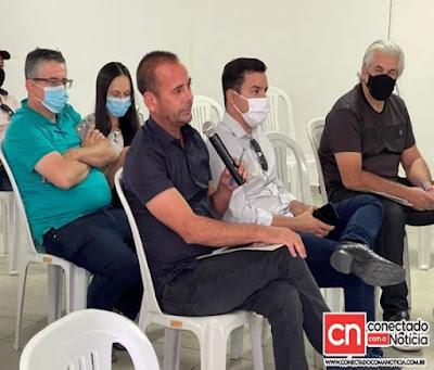 MARCIO-LEITE-1 Prefeito Márcio Leite participa de reunião da Amcap para tratar sobre implantação de usina de beneficiamento de resíduos