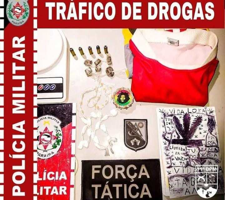 drogas Polícia Militar faz apreensão de drogas durante operação na cidade de Prata