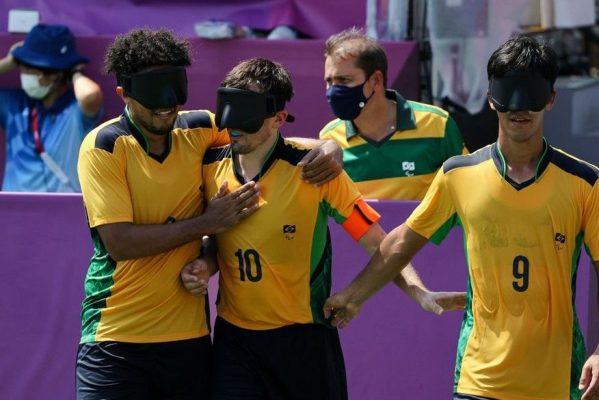 futebol_de_cinco-599x400 Com dois gols de paraibano, futebol de 5 do Brasil goleia França nas Paralimpíadas de Tóquio