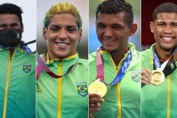 medalhas-de-ouro-599x400 Com 4 ouros, Nordeste alcança protagonismo inédito na história das Olimpíadas