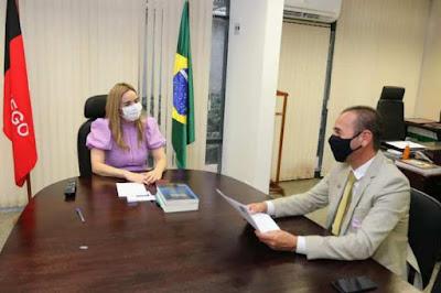 senadora-daniela-ribeiro-marcio-leite Prefeito Márcio Leite cumpre agenda na Funasa e é recebido pela Senadora Daniella Ribeiro