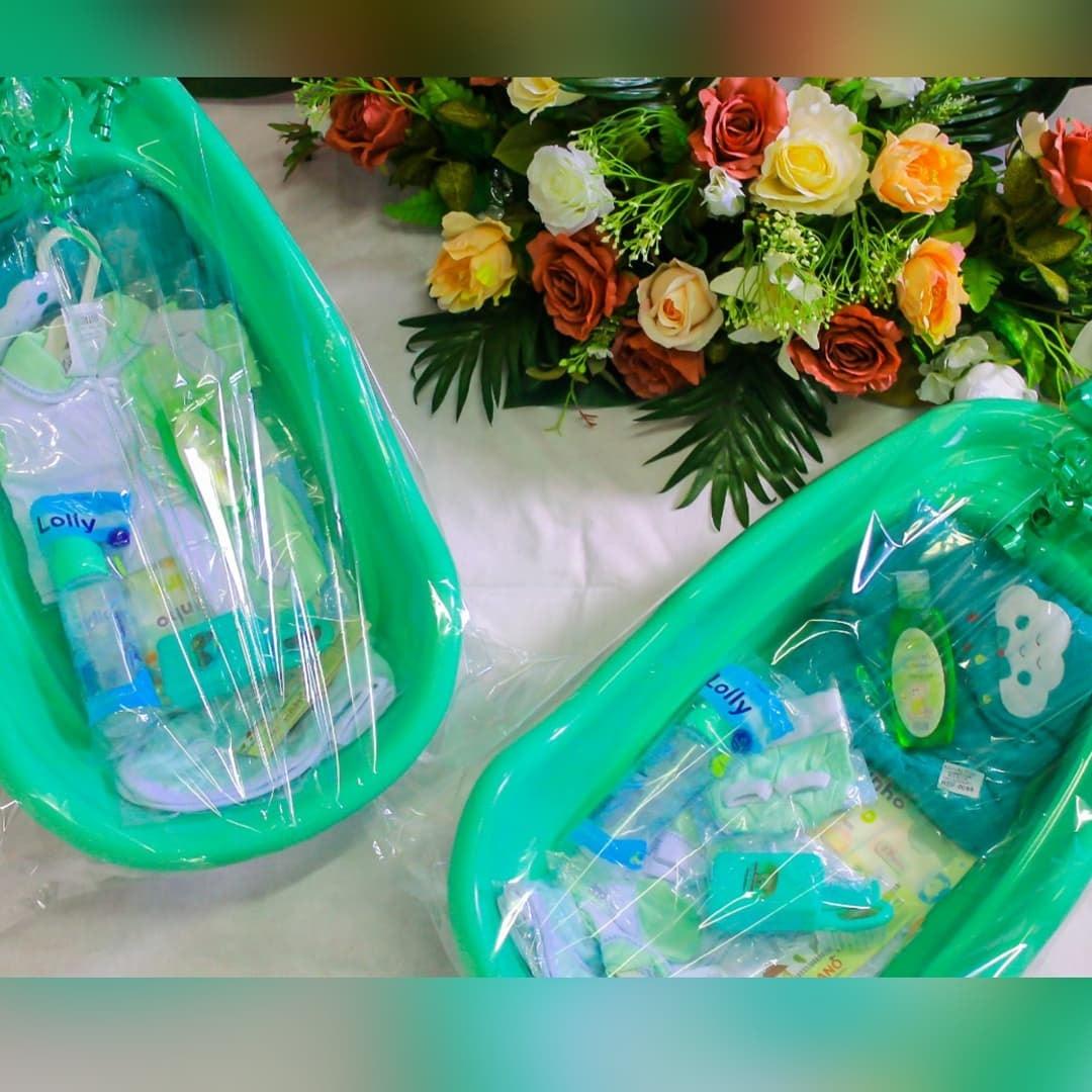 7.3 Secretaria de Desenvolvimento Social de São João do Tigre entrega de Kits de Enxoval ao grupo de gestantes que vão ter bebê no mês de Setembro