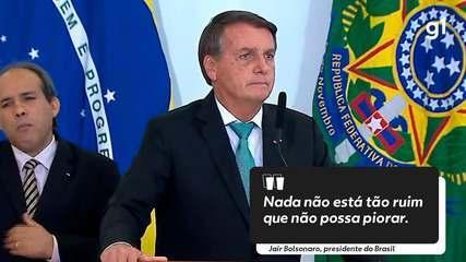 9896823_x240 Bolsonaro sobre alta da gasolina: ''Nada é tão ruim que não possa piorar''
